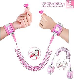防丢失腕环,儿童户外*带。 Pink and Light pink