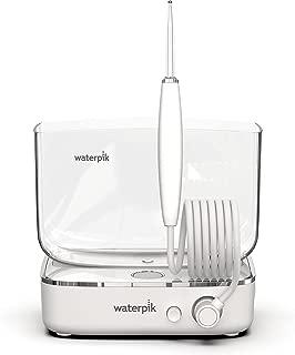 waterpik 洁碧 Sidekick 便携式水牙线,旅行&家用,白色/铬黄色(全球通用电压)