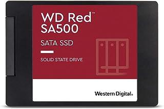 Western Digital WD Red SA500 内置 SSD硬盘 2.5英寸 NAS 用 500GB SATA 3.0 WDS500G1R0A-ECWDS400T1R0A-EC  SSD SATA 4) 4TB