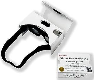 谷歌纸板 12 套 - 虚拟现实眼镜层压纸板适用于 iPhone 和 Android - 虚拟现实护目镜