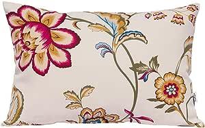 tangdepot174;100% 棉质花卉 / 花朵 printcloth 装饰抱枕套 / 手工个枕头套–多种颜色可选,尺寸 avaliable