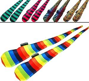 FUNKY® 袜子套装(5 种设计)Pro Poi 纺车袜 AKA 管脚