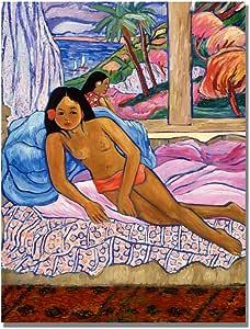 Trademark Art New Day in Maui 帆布艺术画 Manor Shadian 22 by 32-Inch MA0315-C2232GG