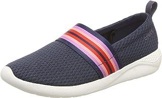 Crocs 女士 LiteRide 网眼一脚蹬运动鞋