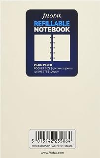 filofax 斐來仕 122451 NOTEBOOKS pocket A7 白色空白頁 活頁本內頁 活頁替芯 筆記本內頁