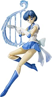 "Bandai Tamashii Nations S.H. Figuarts 美少女战士*美少女战士水星""美少女战士""可动公仔"