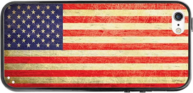 Cellet Proguard Case for iPhone 6 - Non-Retail Packaging - Vintage American Flag/Clear