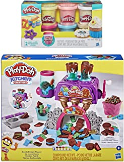 Play Doh Kitchen Creations Candy Delight 玩具套装 + Play Doh 五彩纸屑化合物
