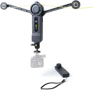 Wiral Lite Cable Cam 系统/便携式摄像机/动态视频/用于动作摄像机、SLR 相机和系统相机,*高 1.5 千克/3 分钟组装,50 米绳