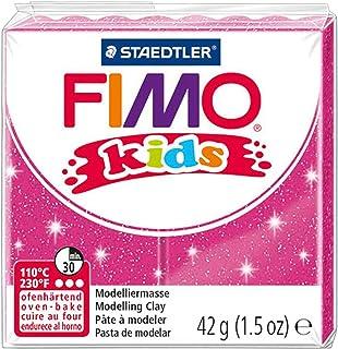 Fimo Kids 42g Block Glitter Pink