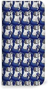 mitas iphone 手机壳135 ブルー(ベルトなし) 2_Xperia Z3 (401SO)