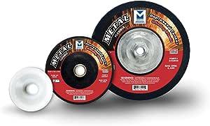Mercer 磨料类型 27 柔性凹陷中心磨牙轮 80 Grit 626053-5