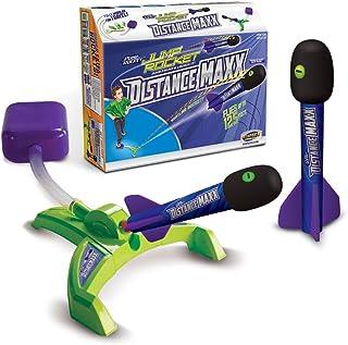 Geospace Jump Rocket Distance Maxx Toy, Green, Orange, Blue, Purple