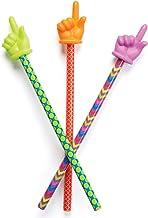 Learning Resources 手指形狀指揮棒,教室里的小助手,多種顏色,3個,適合3歲以上的人群