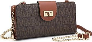 女士时尚小号斜挎单肩包手机钱包信用卡插槽手拿包/可拆卸链带