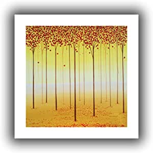Art Wall Herb Dickenson 'Forest Memories' Unwrapped Flat Canvas Artwork, 22 by 22-Inch