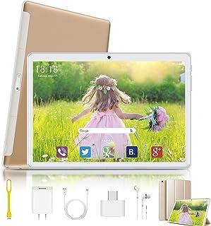 二合一平板电脑,10.1英寸平板电脑,Android 9.0四核,3GB RAM 32GB ROM,IPS 高清显示屏,8MP后置摄像头,蓝牙5.0,4G WiFi,GPS-G10  10.1 inch