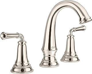 American Standard Delancey widespread 浴室水龙头 带弹出式排水 亮灰色(Polished Nickel)