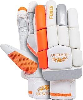Newbery Cricket Baby Force 击球手套,白色/橙色,迷你青少年
