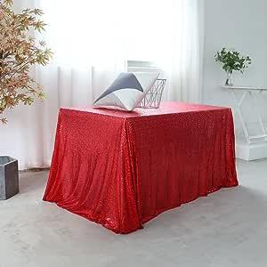 60x126 长方形亮片桌布派对蛋糕甜点桌展览活动,金色