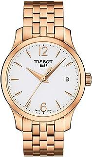 Tissot T063.210.33.037.00 女式手表 传统玫瑰金 33 毫米 不锈钢