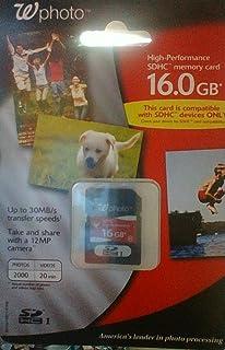 WALGREENS 16 GB SDHC 内存卡 10 级