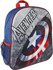 Marvel 2100001971 31 厘米 Avengers 美国队长盾 3D 效果青少年背包