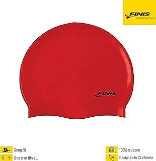 FINIS 硅胶纯色泳帽