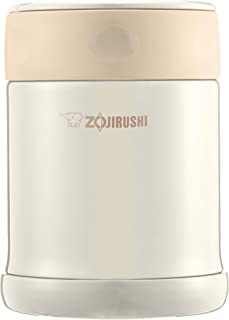 ZOJIRUSHI 象印 不銹鋼便當盒 350ml 奶油色 SW-EE35-CC