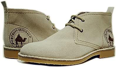 portmann 男式2.54cm Originals 沙漠马靴 Titanium Fabric 42 M EU / 9 D(M) US