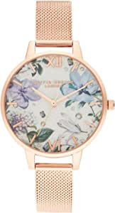 Olivia Burton 女士指针式石英手表不锈钢表带 OB16BF27