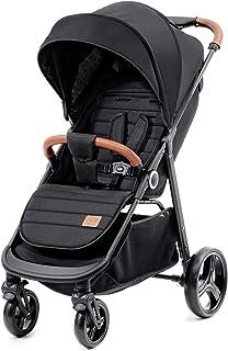 Kinderkraft Grande 大型婴儿车 婴儿车 可折叠 黑色