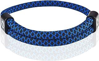 可调节男士手链采用耐用防水绳制成 | 男士时尚配饰 | 10 种颜色 | 适合任何手腕尺寸