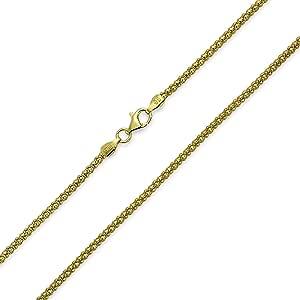 Bling Jewelry 贝灵珠宝 纯银 镀金 高丽雅娜项链 Coreana项链 尺寸30号意大利风格