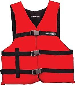 Airhead 成人个人漂浮装置,红色,L/XXL 码