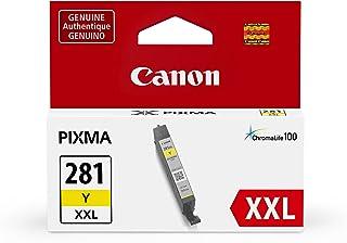 Canon 佳能 cli-281 打印机墨盒(tr7520, tr8520, ts9120),黄色,XXL