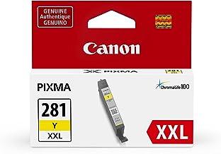 Canon 佳能 cli-281 打印機墨盒(tr7520, tr8520, ts9120),黃色,XXL
