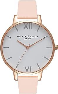 Olivia Burton 女士指针式石英手表皮革表带OB16BDW21