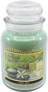 A Cheerful Giver Day Spa 罐装蜡烛 24 oz CC01