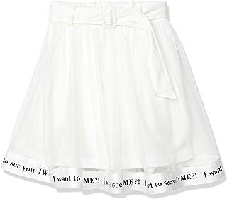 Jewelnavy 披肩 重疊裙 商標 吸汗 皮帶 小學生 中學生 女孩 上學 童裝 1051008