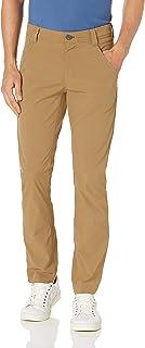 Amazon Essentials 男士标准修身 5 口袋弹力轻质户外裤