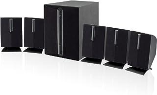 GPX ht050b 5.1 通道家庭影院扬声器系统(黑色)