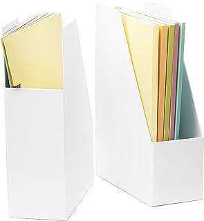 2 件套可折叠垂直文件夹,优质带文件夹的纸板,桌面,书架和办公室管理,文件和报告活页夹,空间管理 多种颜色