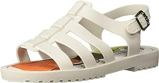 Mini Melissa Mini Flox + Disney 儿童平底凉鞋