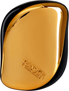 Tangle Teezer Compact Styler On-The-Go Detangling Hair Brush - # Bronze Chrome 1pc