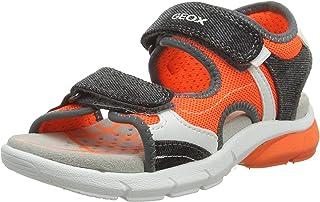 Geox 男童 J 凉鞋 Flexyper 露趾凉鞋