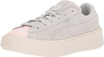 PUMA Kids' 绒面防水台 GLAM 运动鞋