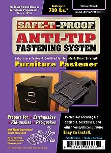Safe-T-Proof 家具紧固件 STP-MP-201-BK-01
