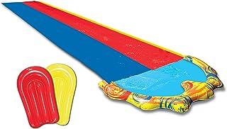 BANZAI Splash Sprint 赛车滑梯,带 2 个车身板