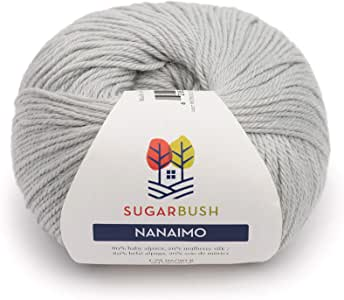 Sugar Bush Yarn Nanaimo 纱球,均码 Petroglyph Grey 均码 6480121207P10